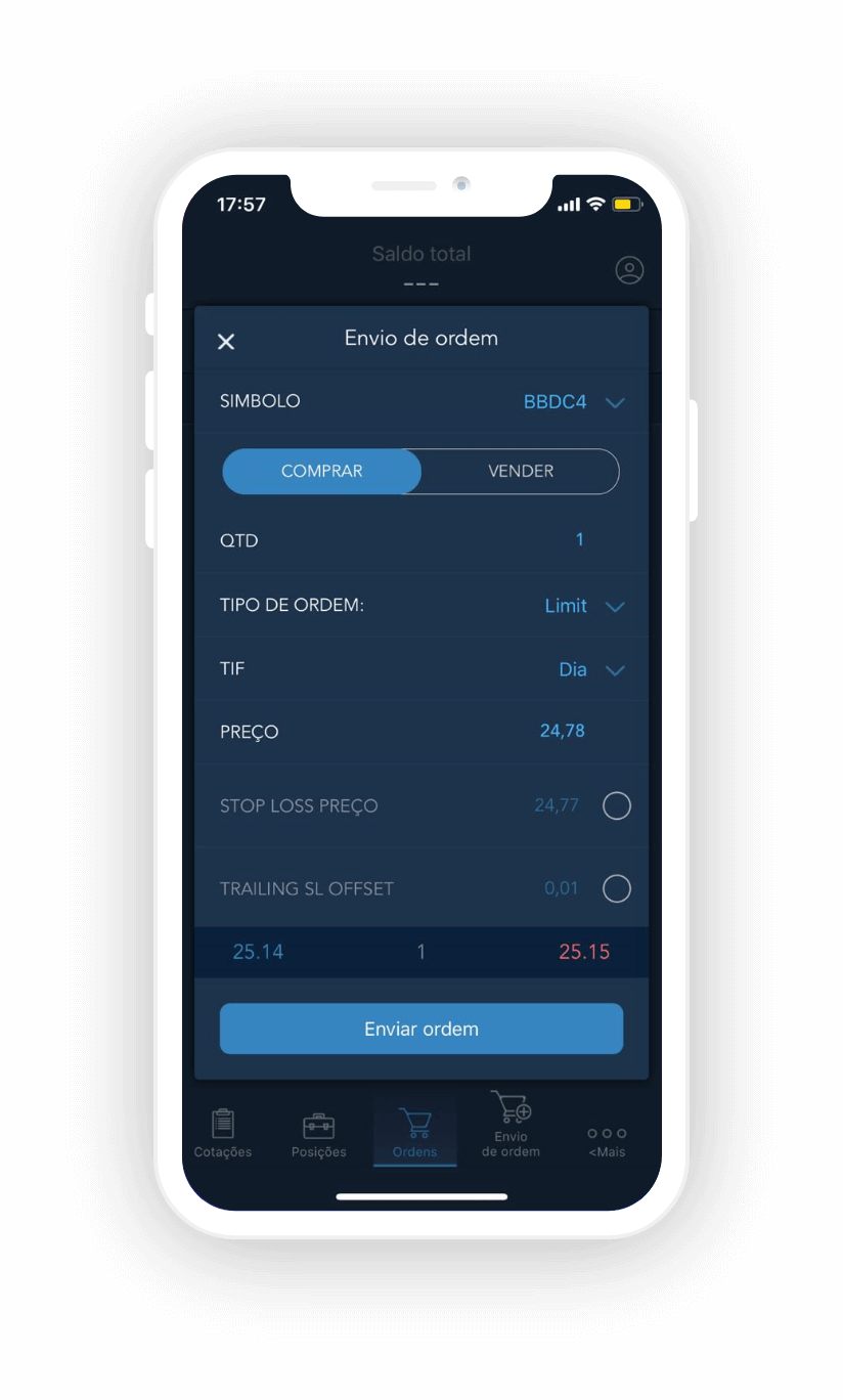 Trader Evolution Mobile - Plataforma Day Trade