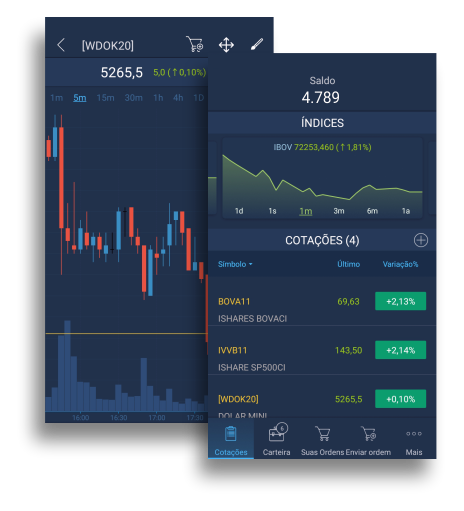Trader Evolution Mobile - Plataforma Swing Trade