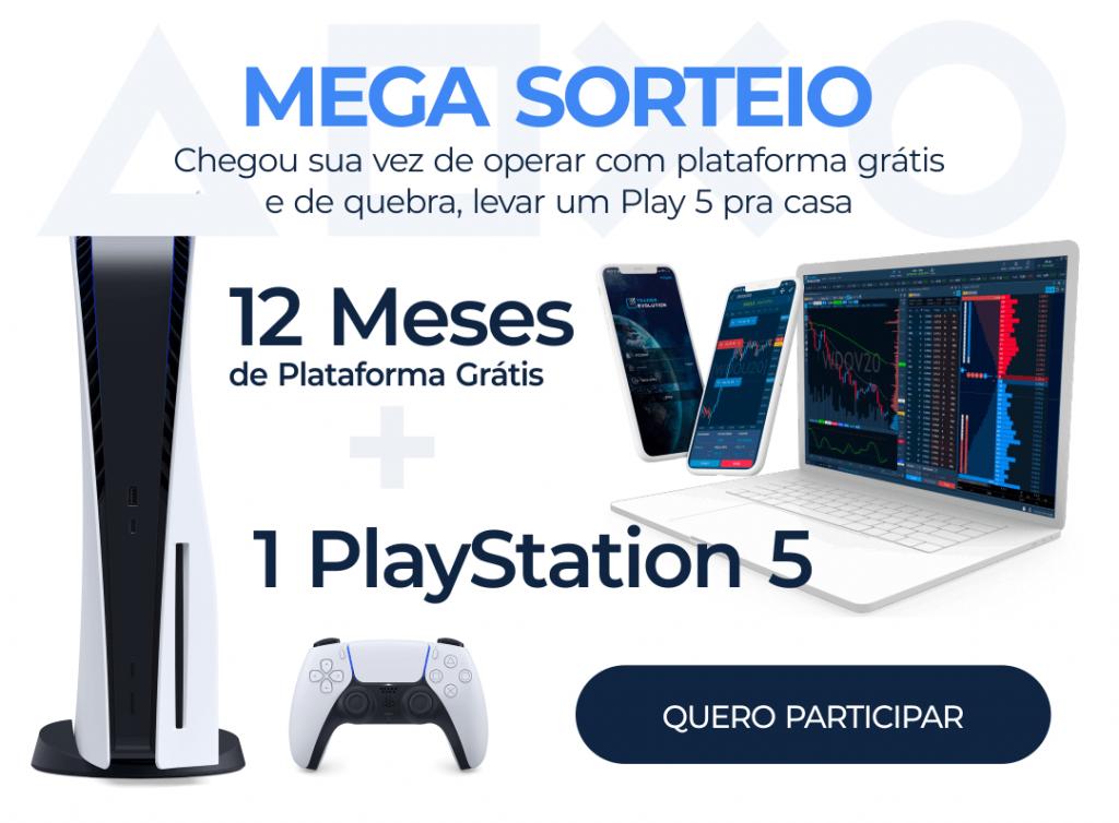 Sorteio Playstation5 TraderEvolution Pro