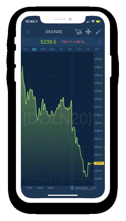 TraderEvolution - Gráficos Avançados